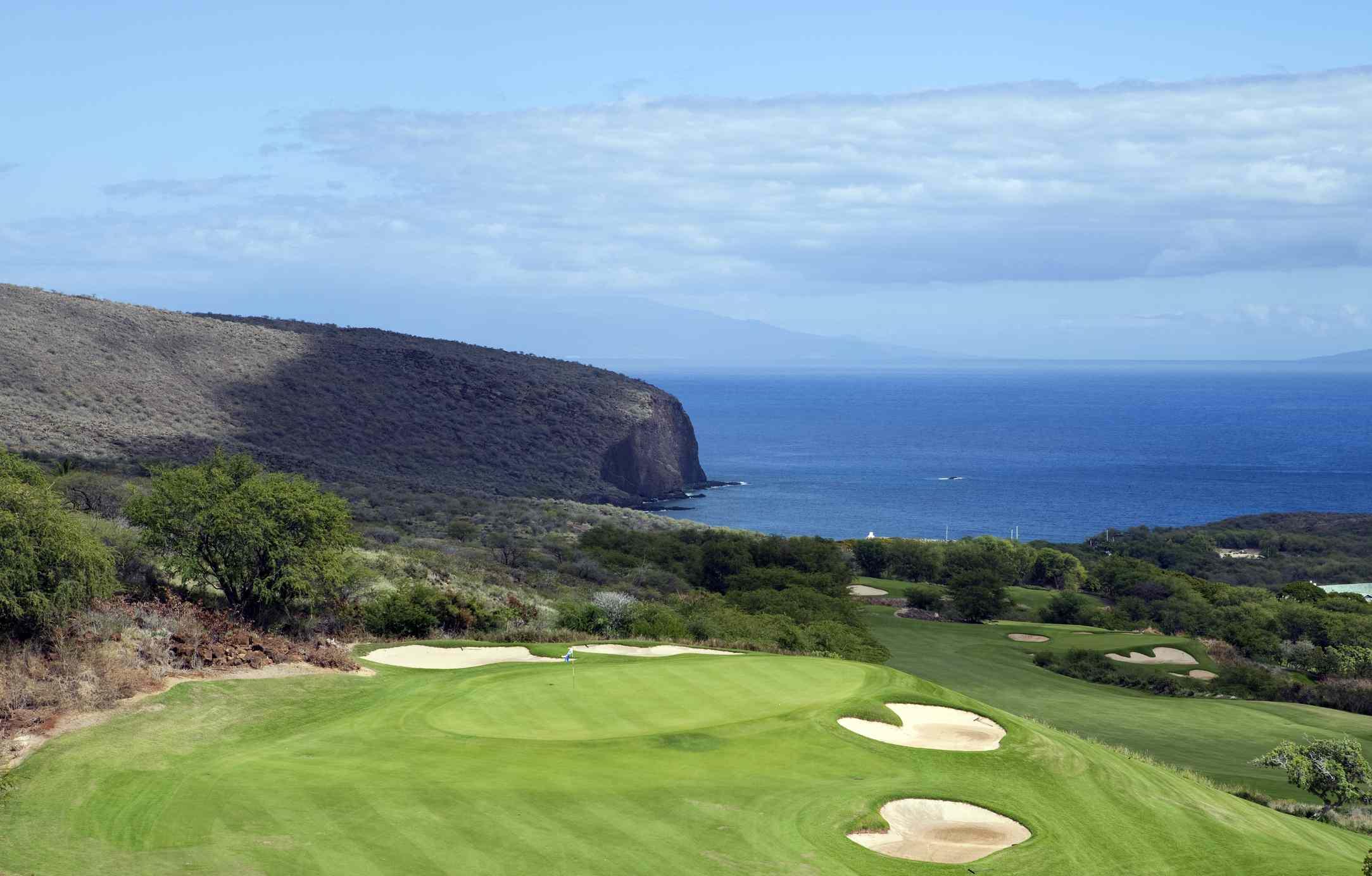 Golf Course on Lanai Hawaii