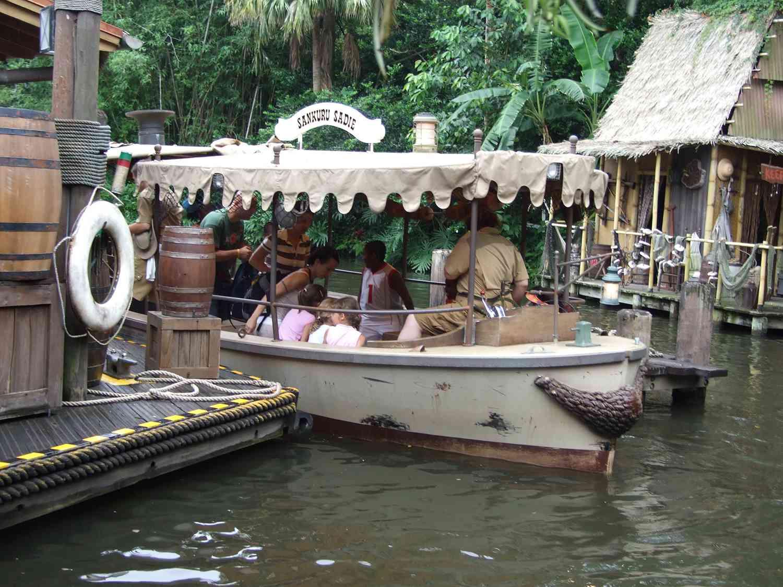 Adventureland boat