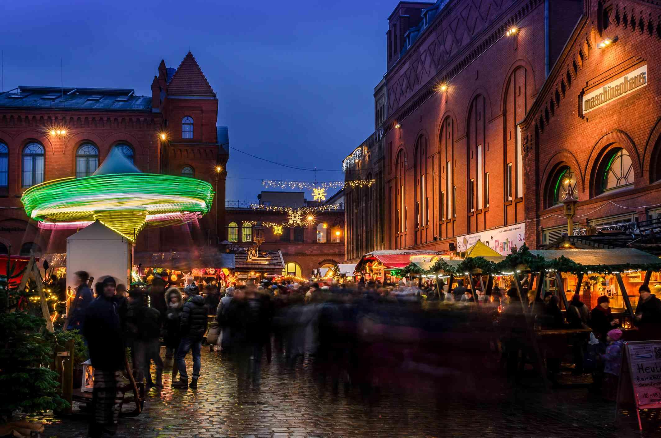 Lucia Christmas Market in Berlin