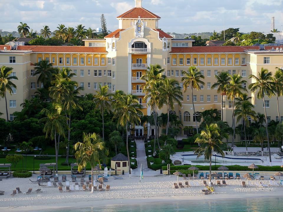 The British Colonial Hilton in Nassau, Bahamas.