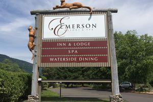 Emerson Resort & Spa signage