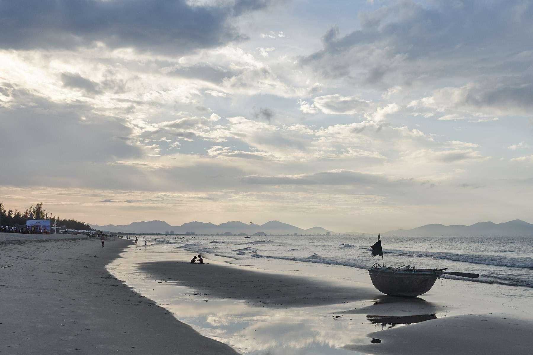 An Bang Beach near Hoi An, Vietnam
