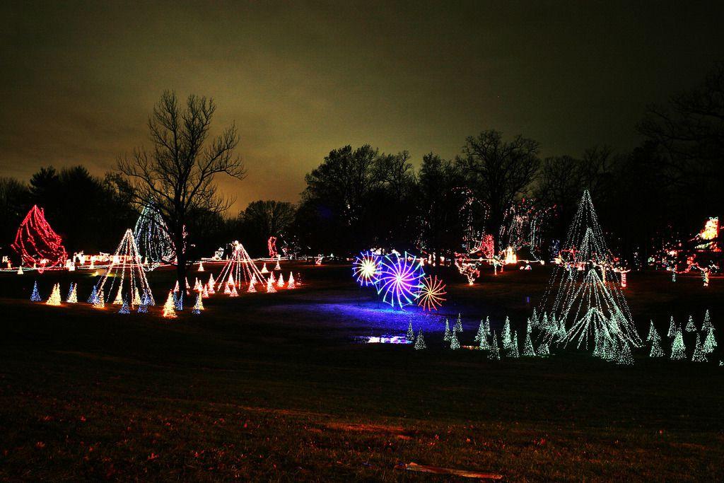 Tilles Park Christmas Lights.The Best Christmas Light Displays In St Louis