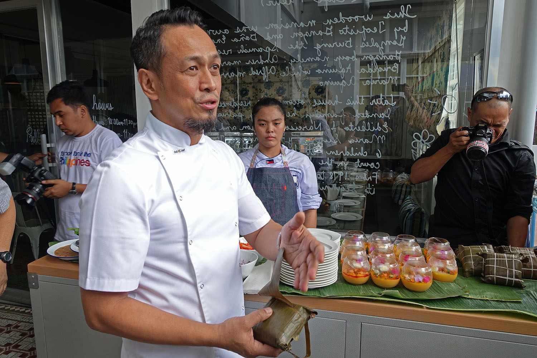 Chef Sau del Rosario of Cafe Fleur
