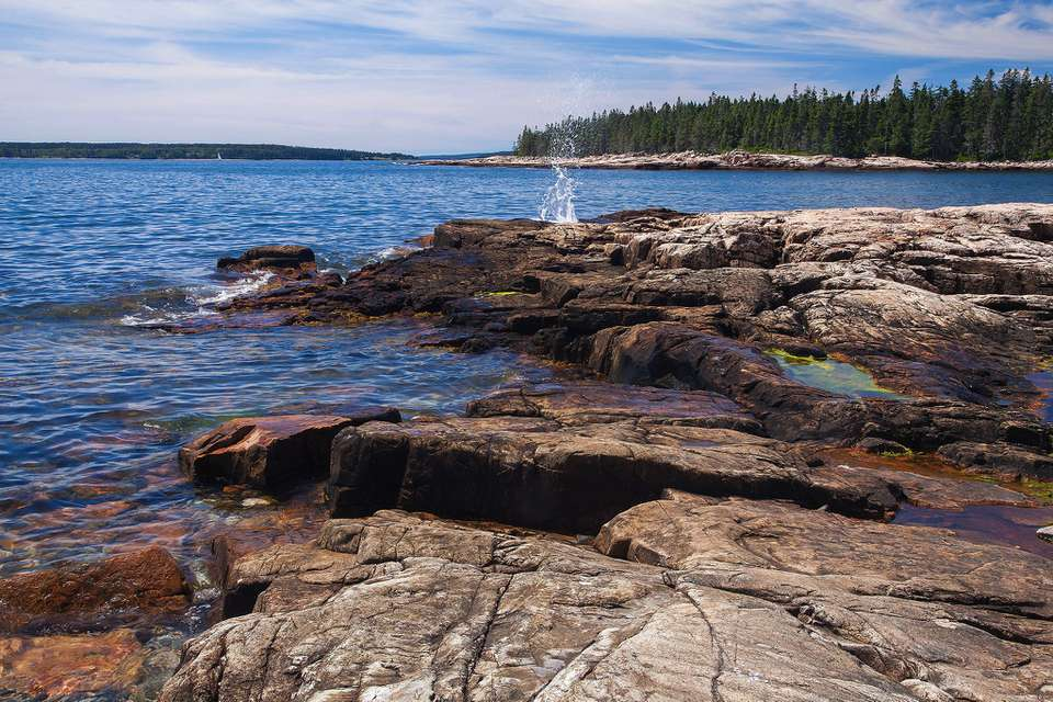West side of Mount Desert Island, Acadia National Park.