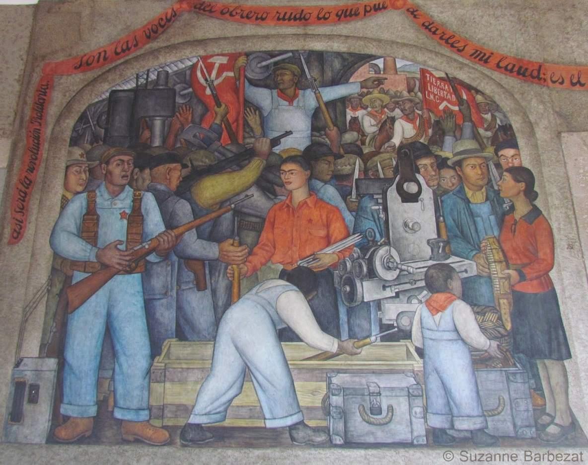 SEP Mural Frida Distributing Arms