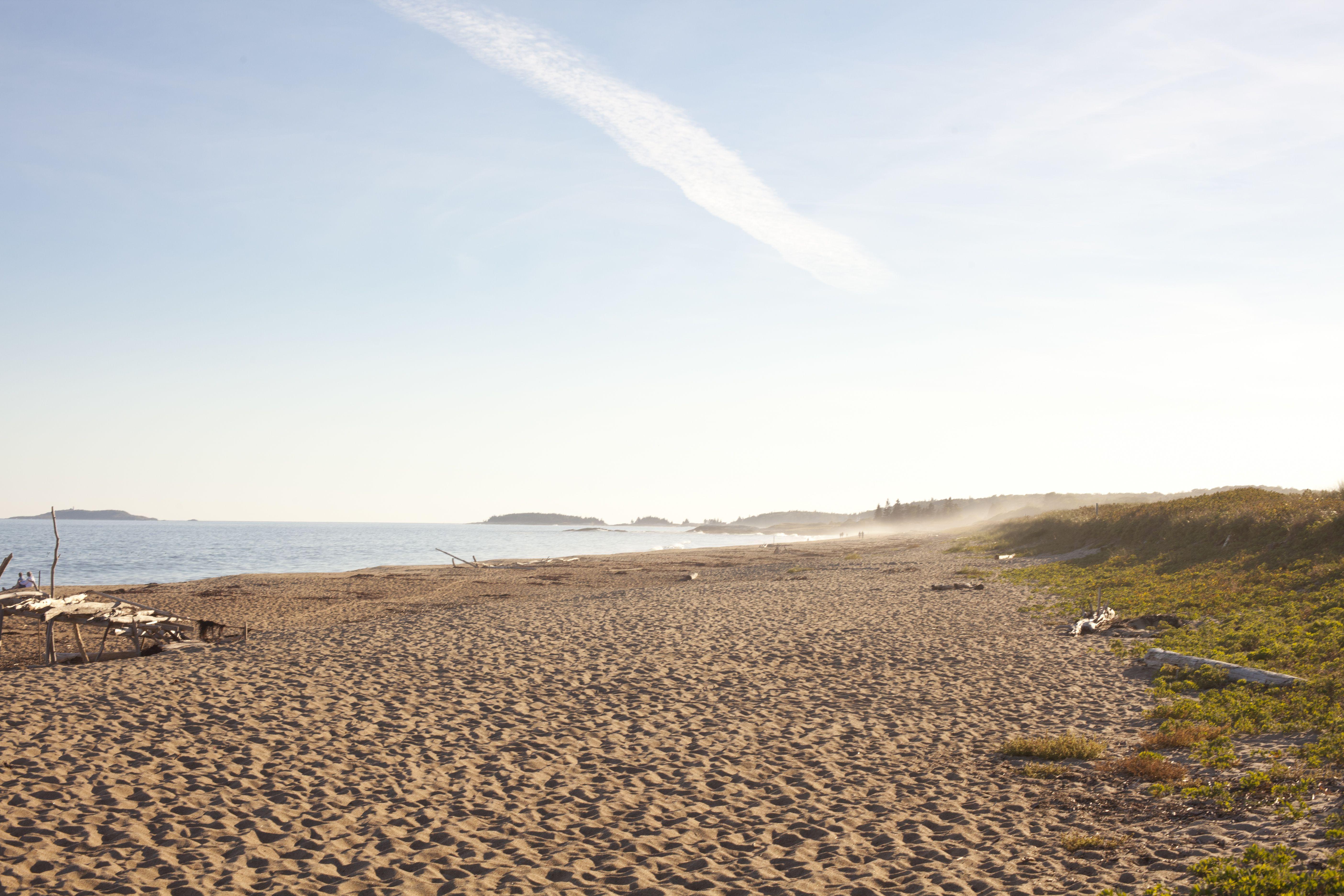 Beach at Reid State Park