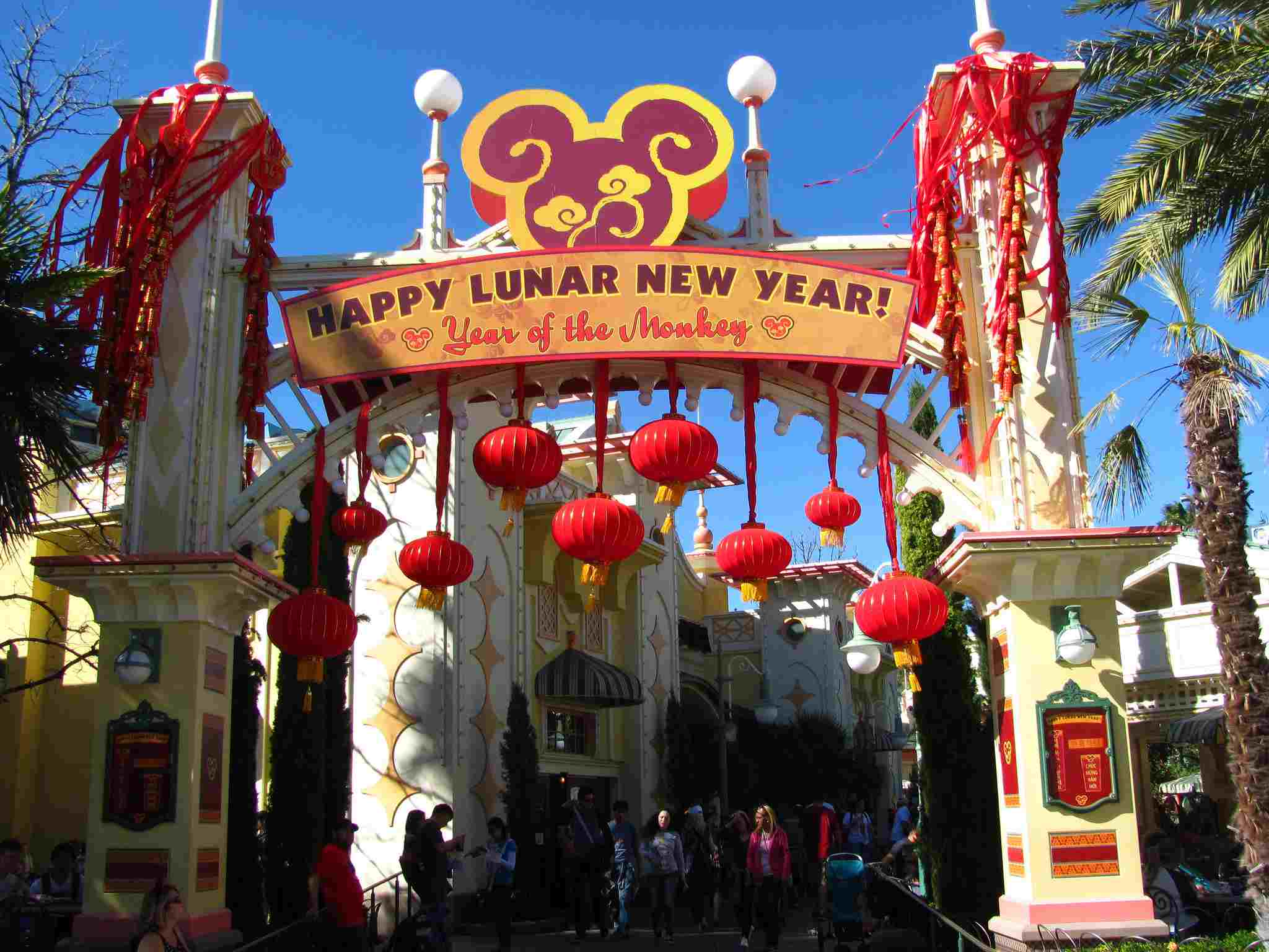Disney California Adventure Lunar New Year