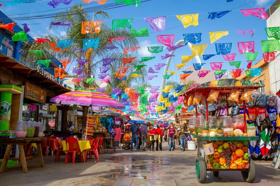 Plaza Santa Cecilia in Tijuana