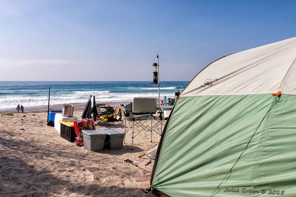 Camping At Jalama Beach