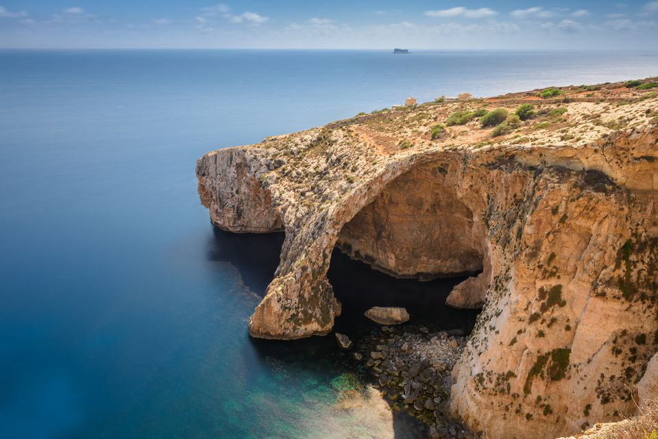 Gruta Azul en Malta
