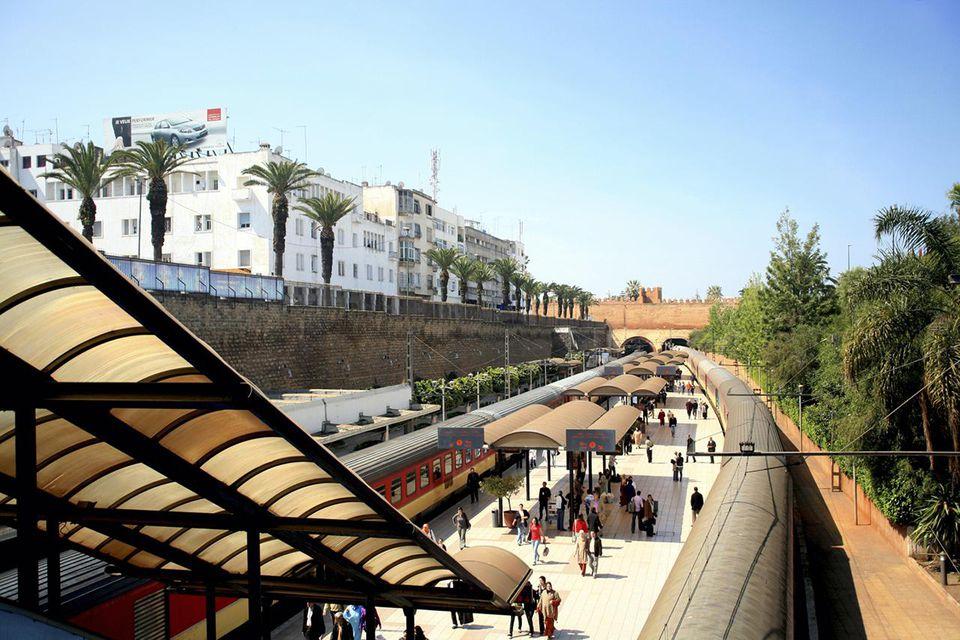 Rabat Main Train Station - Rabat, Morocco