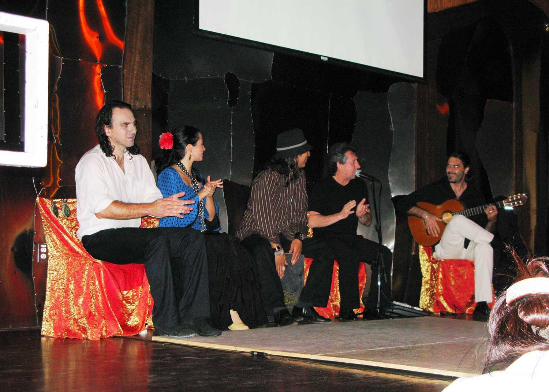 Art of Flamenco, at the Cafe Sevilla, Long Beach, California