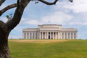 Auckland War Memorial Museum. Getty Images/Aumphotography