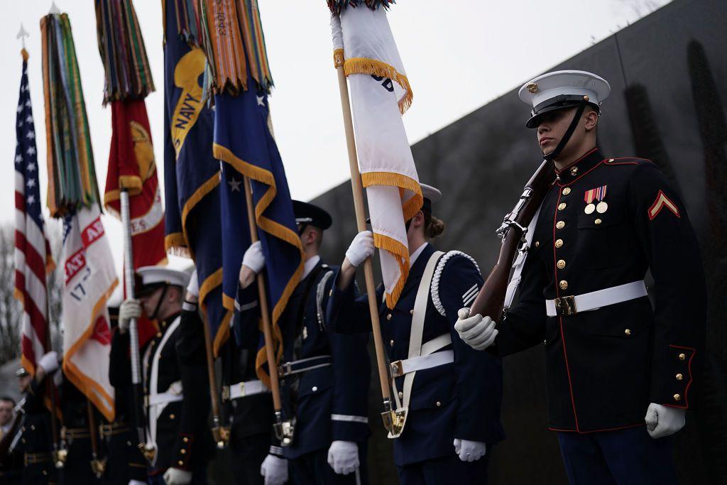 Nat'l Vietnam War Veterans Day Commemorated At Vietnam War Memorial