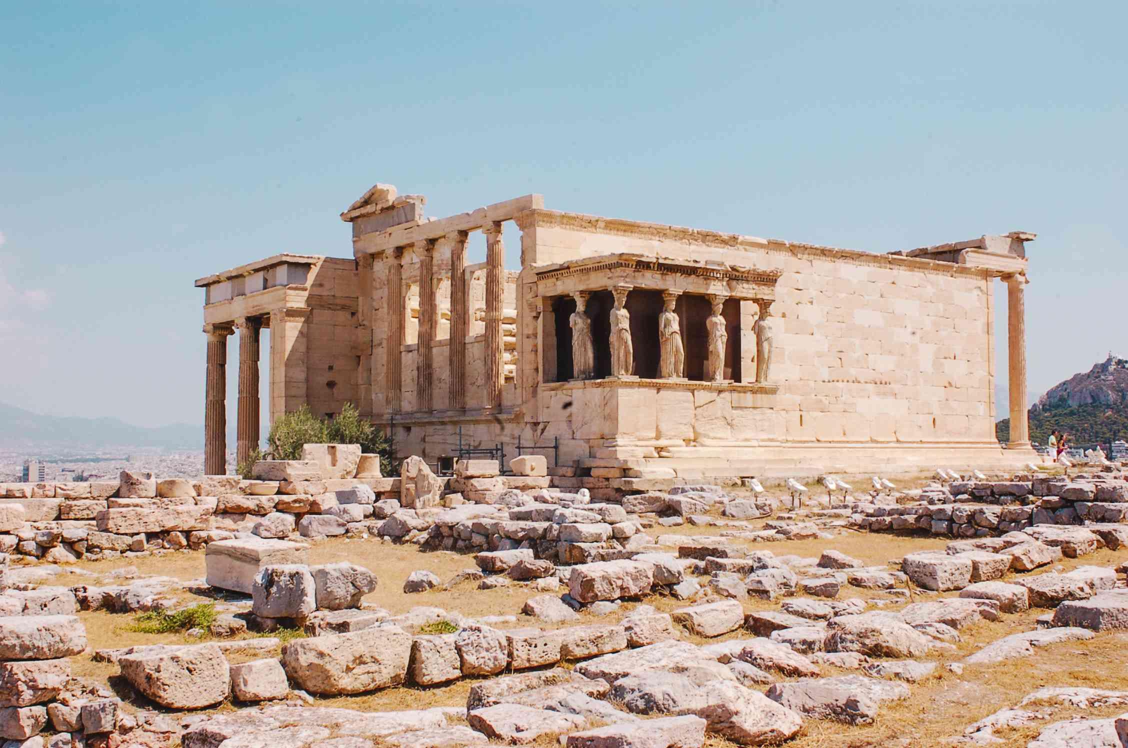 La Acrópolis en Atenas