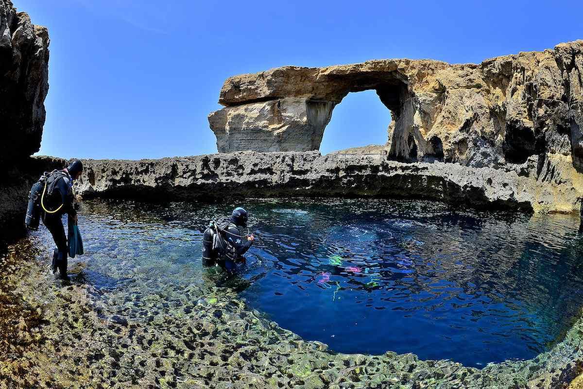 Malta Blue Hole