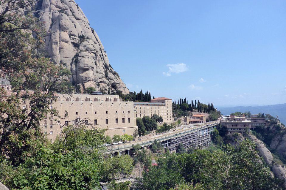 Montserrat, near Barcelona
