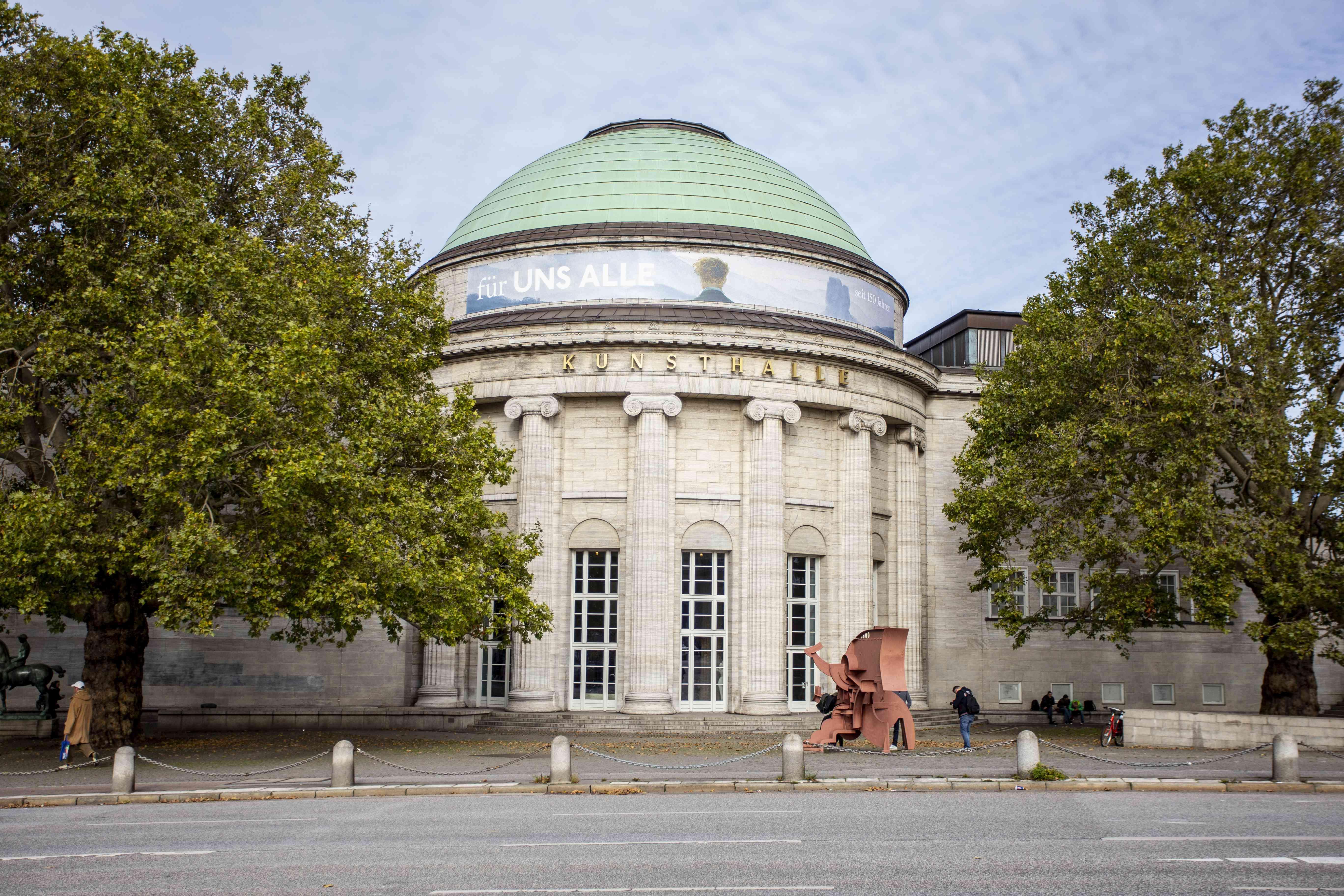 Exterior of the Hamburger Kunsthalle