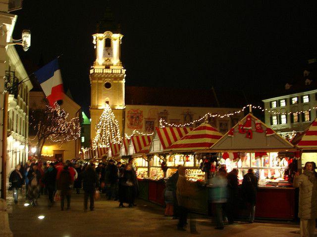 Christmas Bratislava.Slovakia Christmas Traditions And Holiday Customs