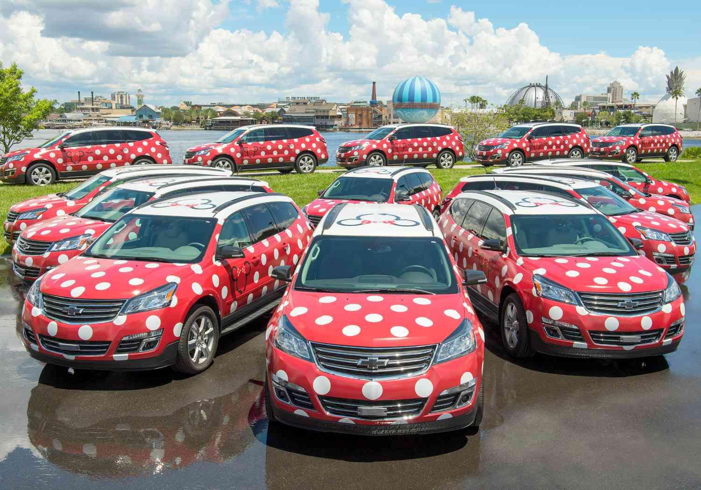 Minnie Van Transportation at Disney World