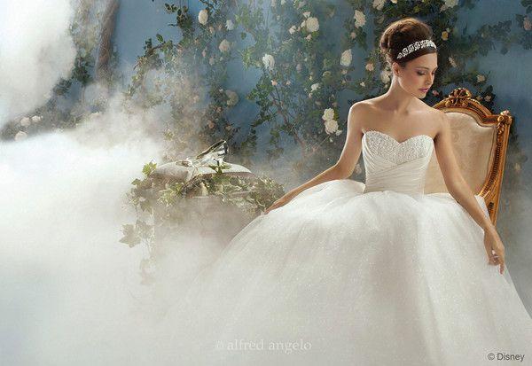 Disney Princess Wedding Dresses by Alfred Angelo