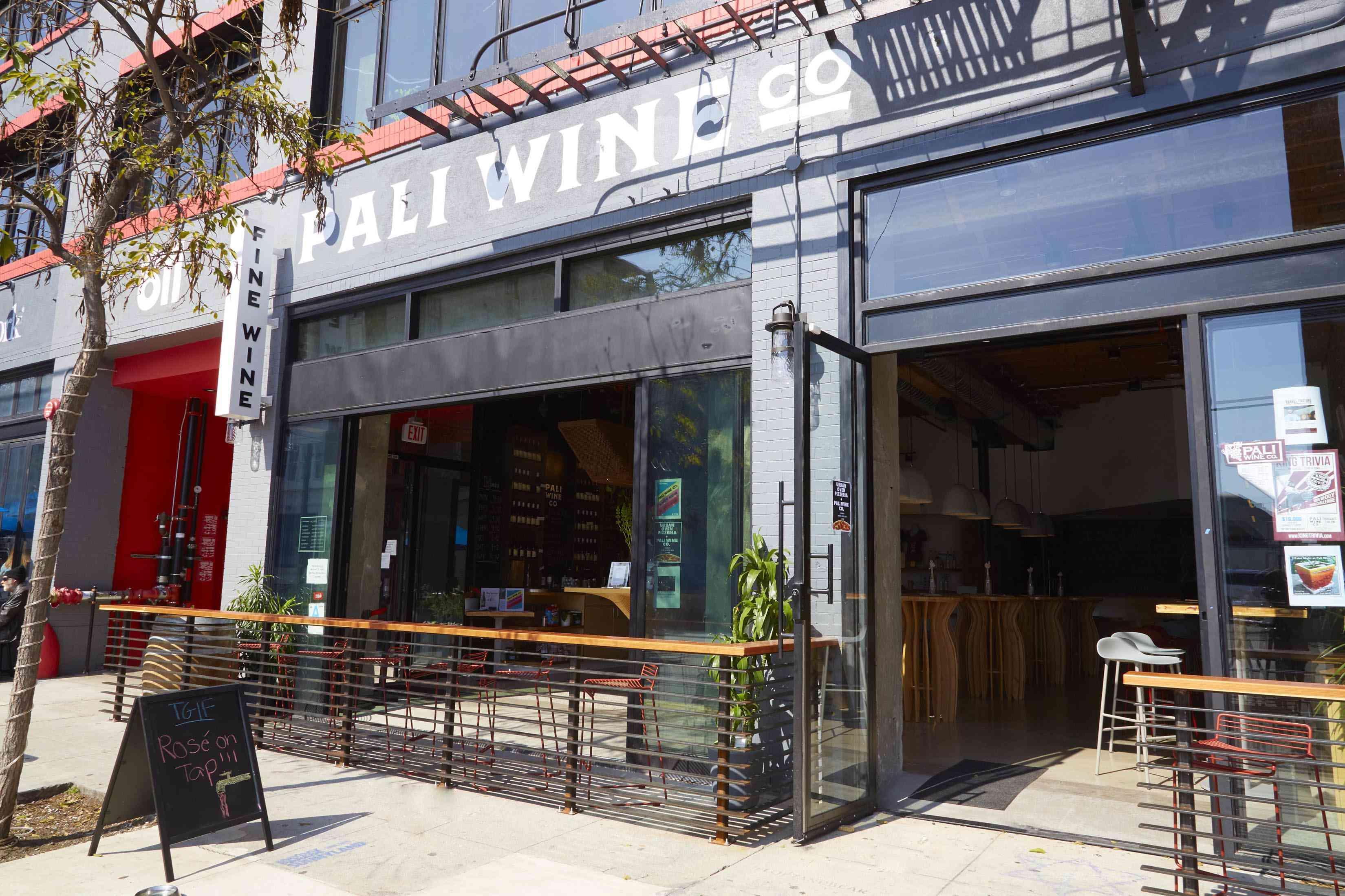 Pali Wine Co. exterior