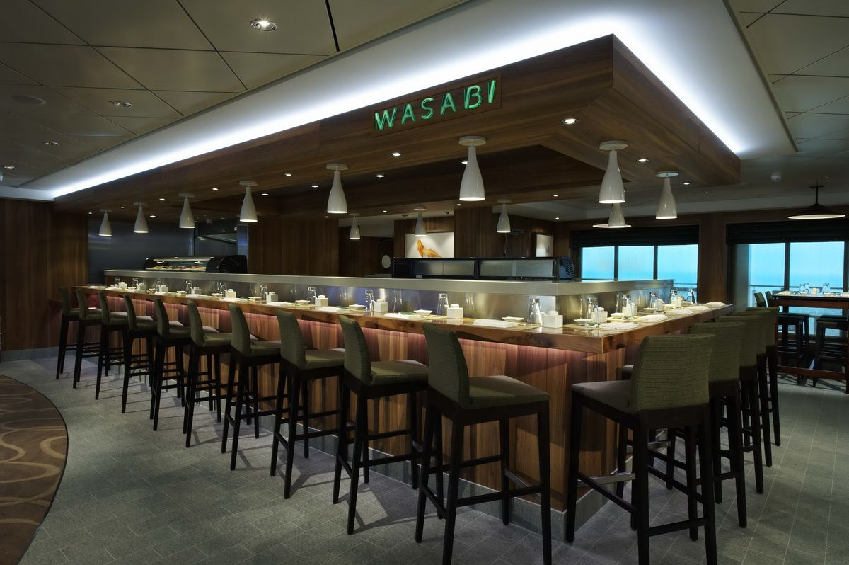 Wasabi Restaurant on the Norwegian Breakaway