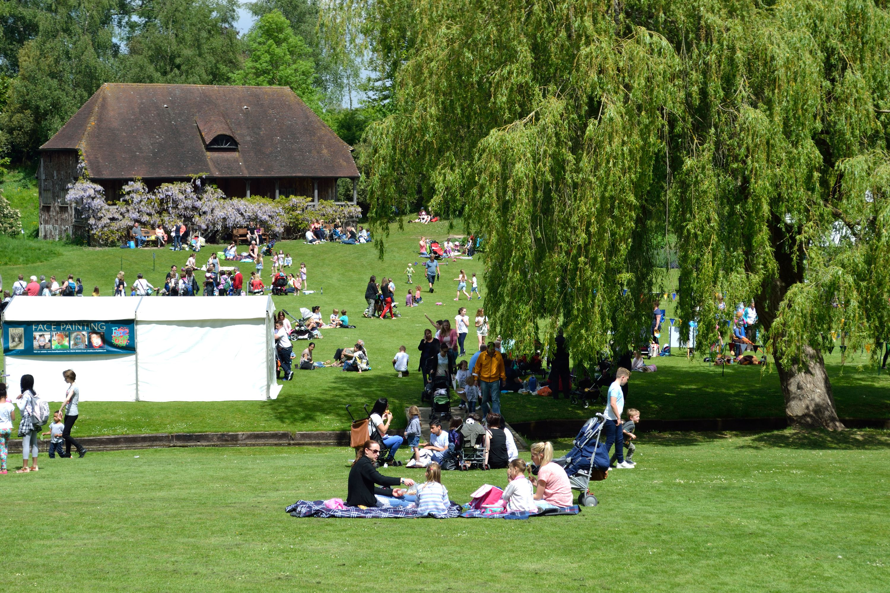 Family fun at Leeds Castle