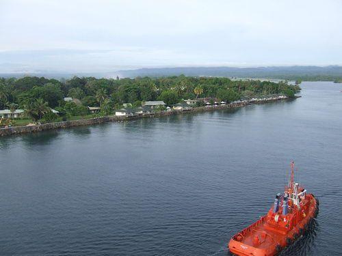 Madang Papua New Guinea Harbor