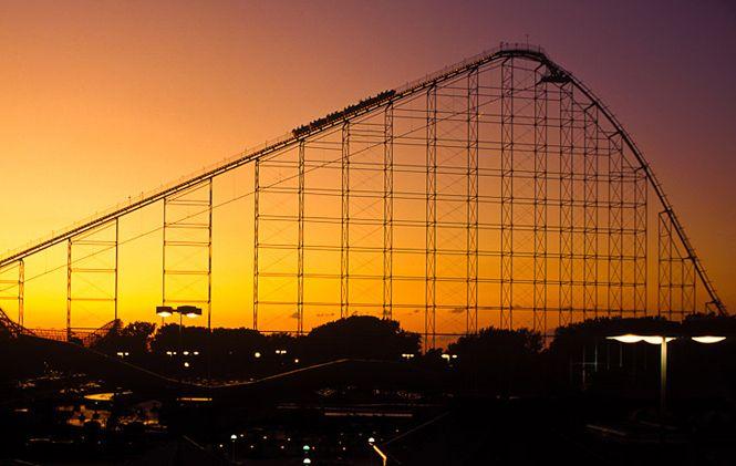 Magnum XL-200 coaster at Cedar Point
