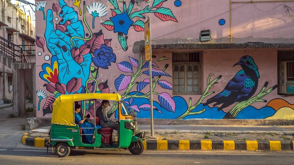 Lodhi Art District, Delhi.
