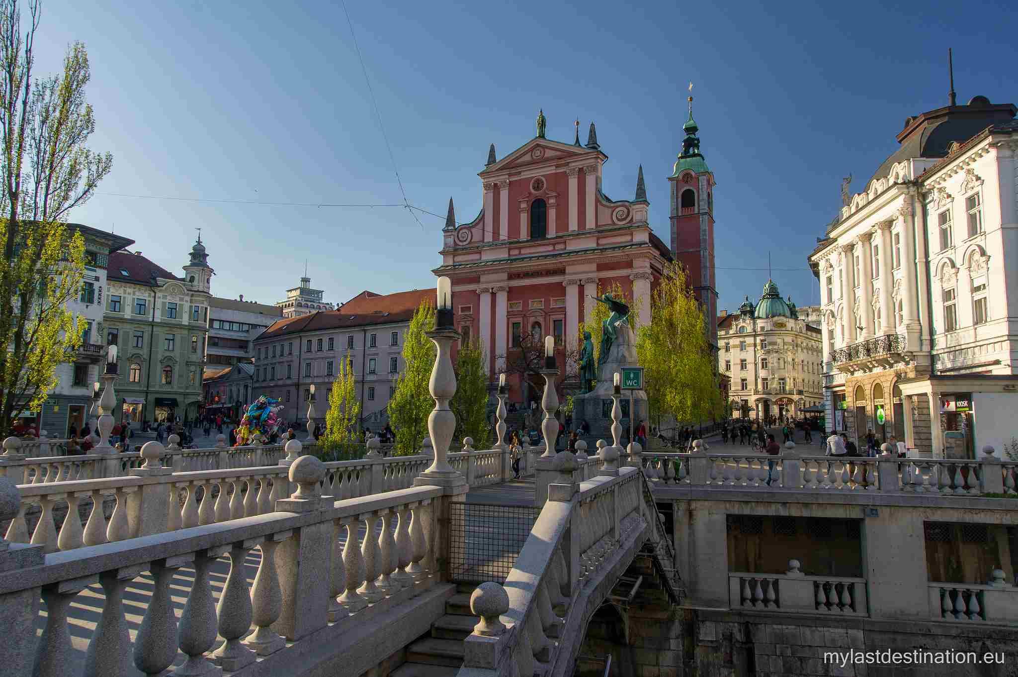 Springtime Ljubljana