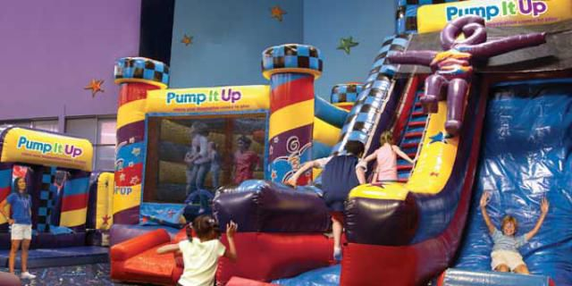 Pump It Up indoor play area