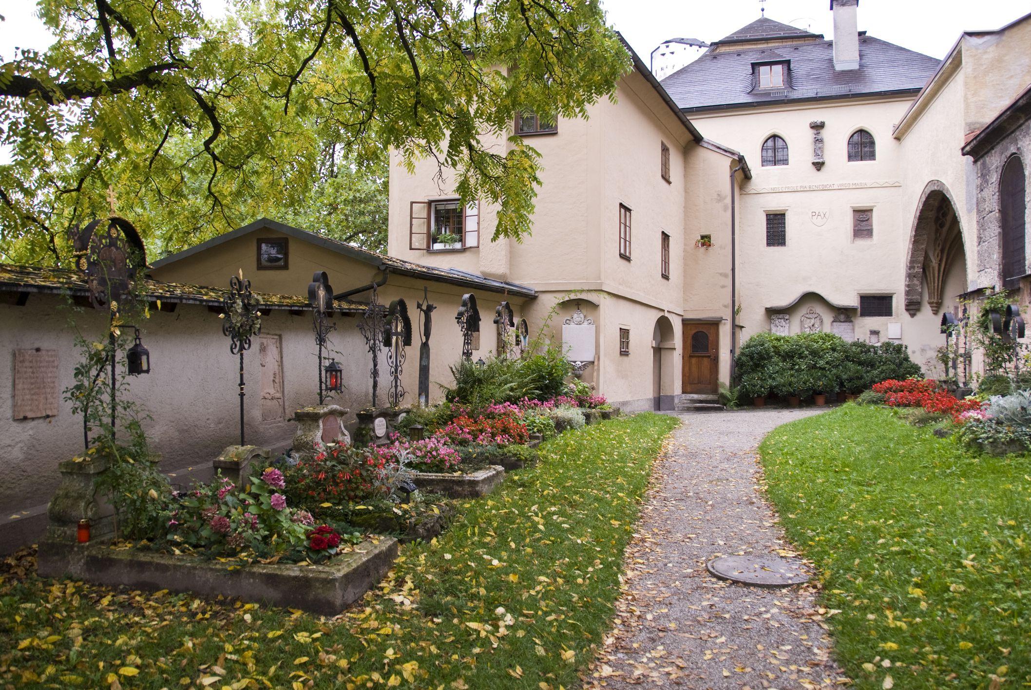 Cemetery at Nonnberg Abbey, Salzburg