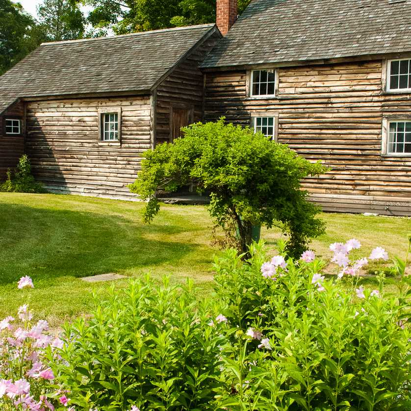 Log Cabin Birthplace President Calvin Coolidge Plymouth Vermont