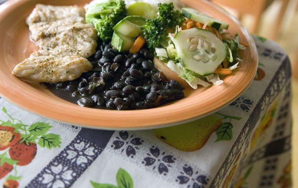Tradtional Costa Rican dish