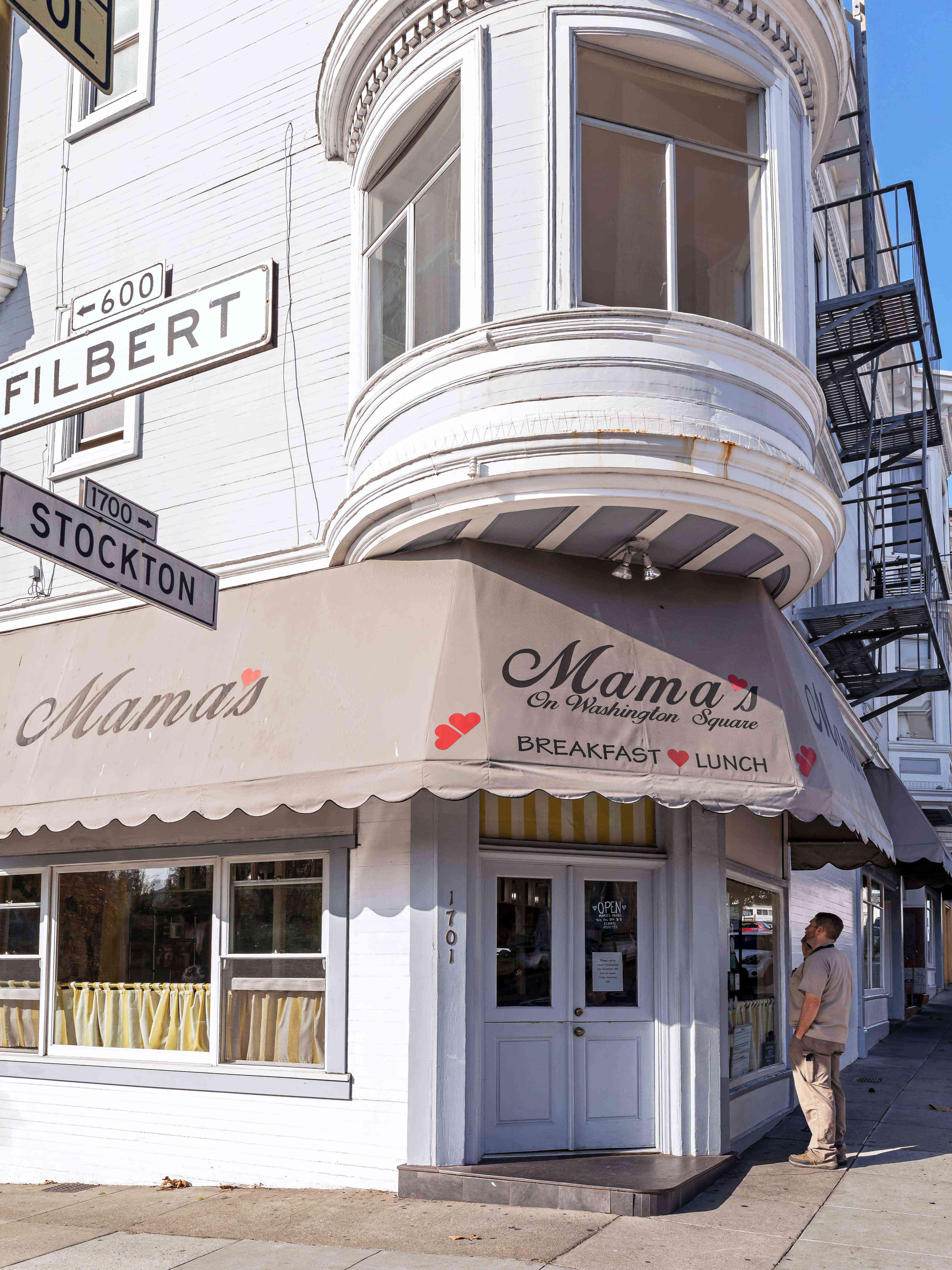 Mama's Restaurant, San Francisco