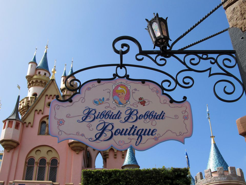 Bibbidi Bobbidi Boutique in the Magic Kingdom