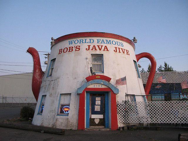 Exterior of World Famous Bob's Java Jive