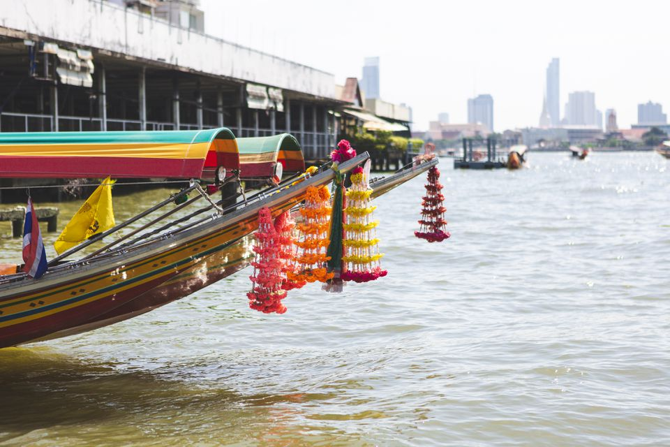 River taxis in Bangkok