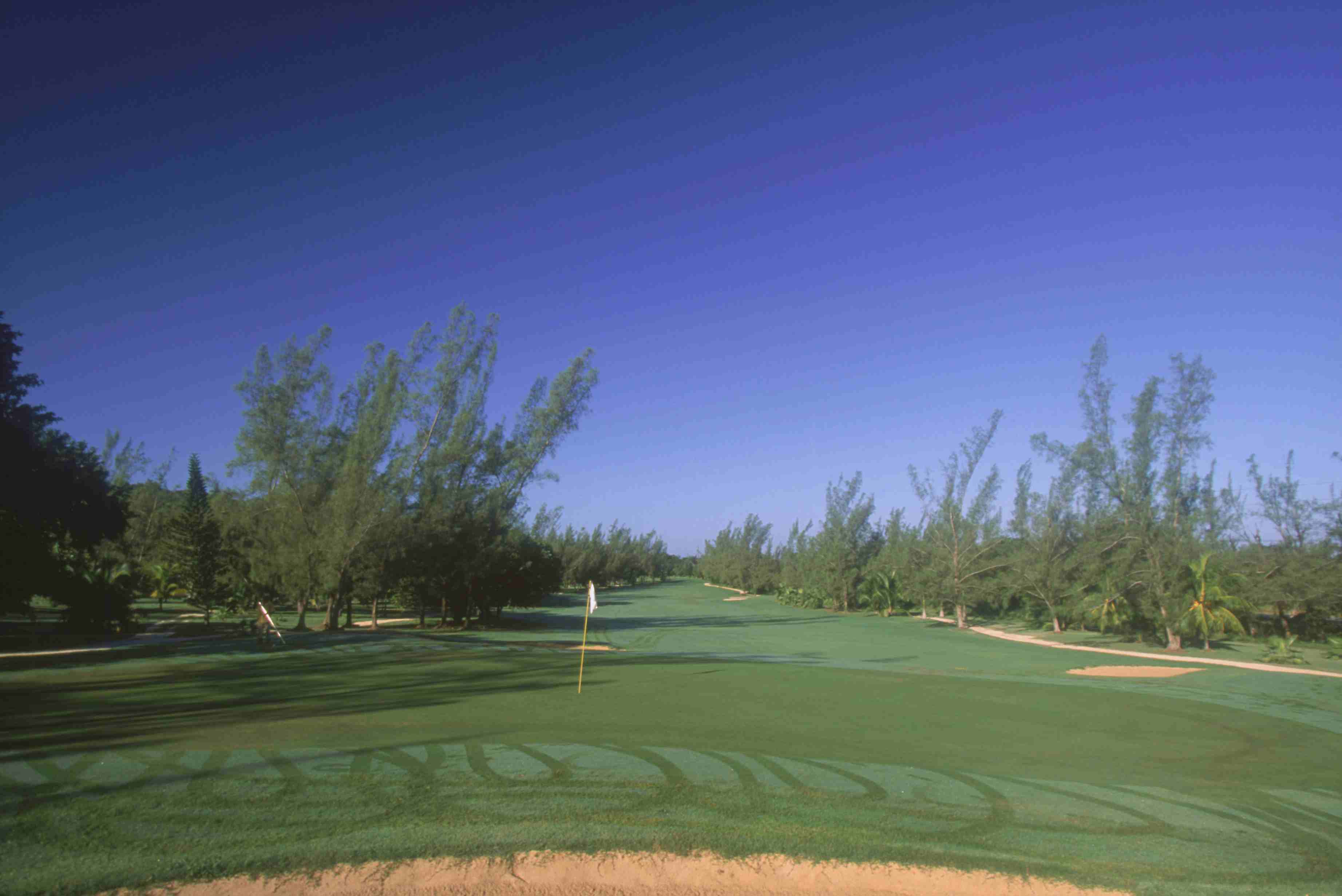 General view of the Half Moon Golf Club,Montego Bay,Jamaica.