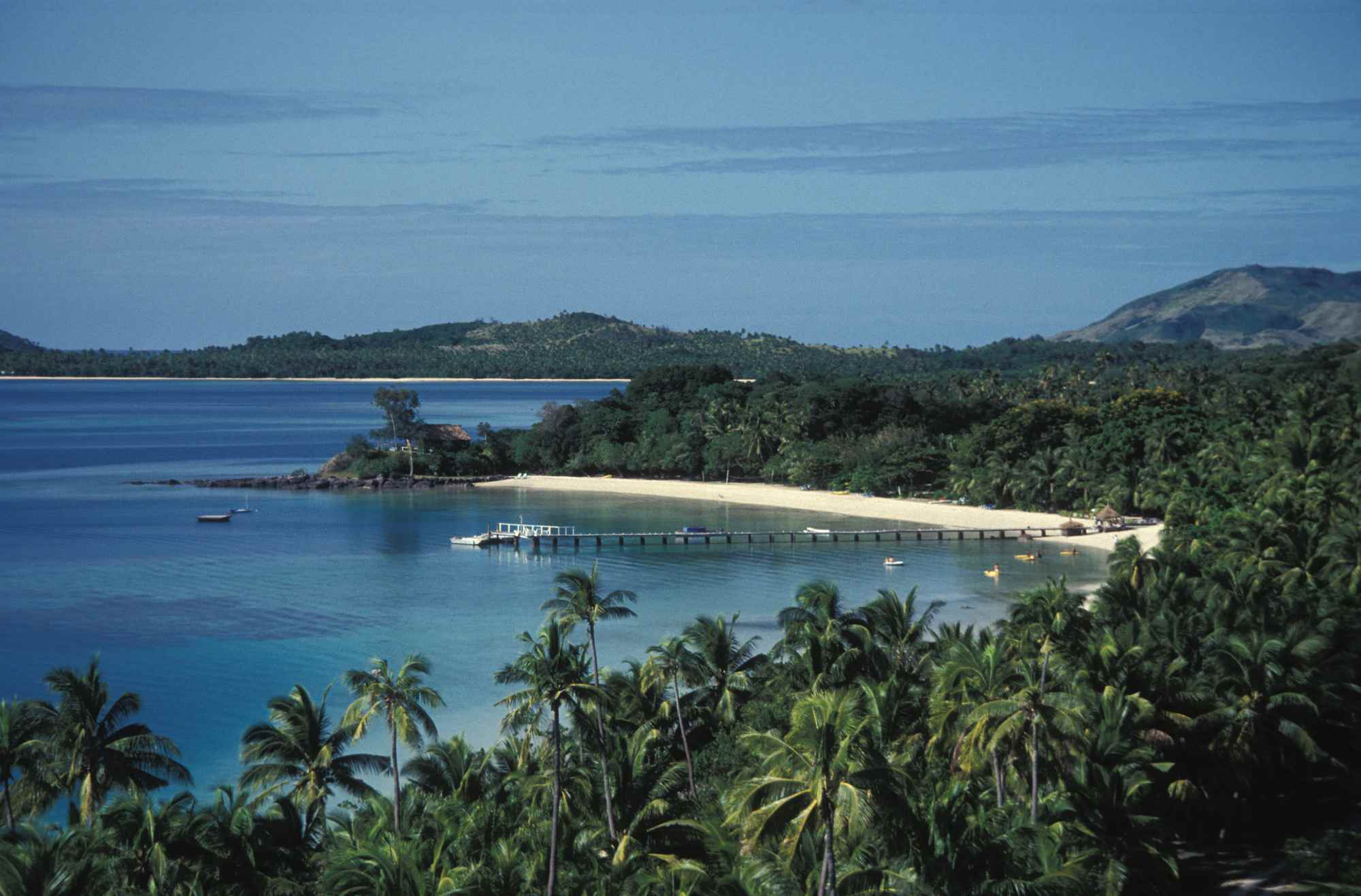 Escenario de película de Blue Lagoon en Fiji