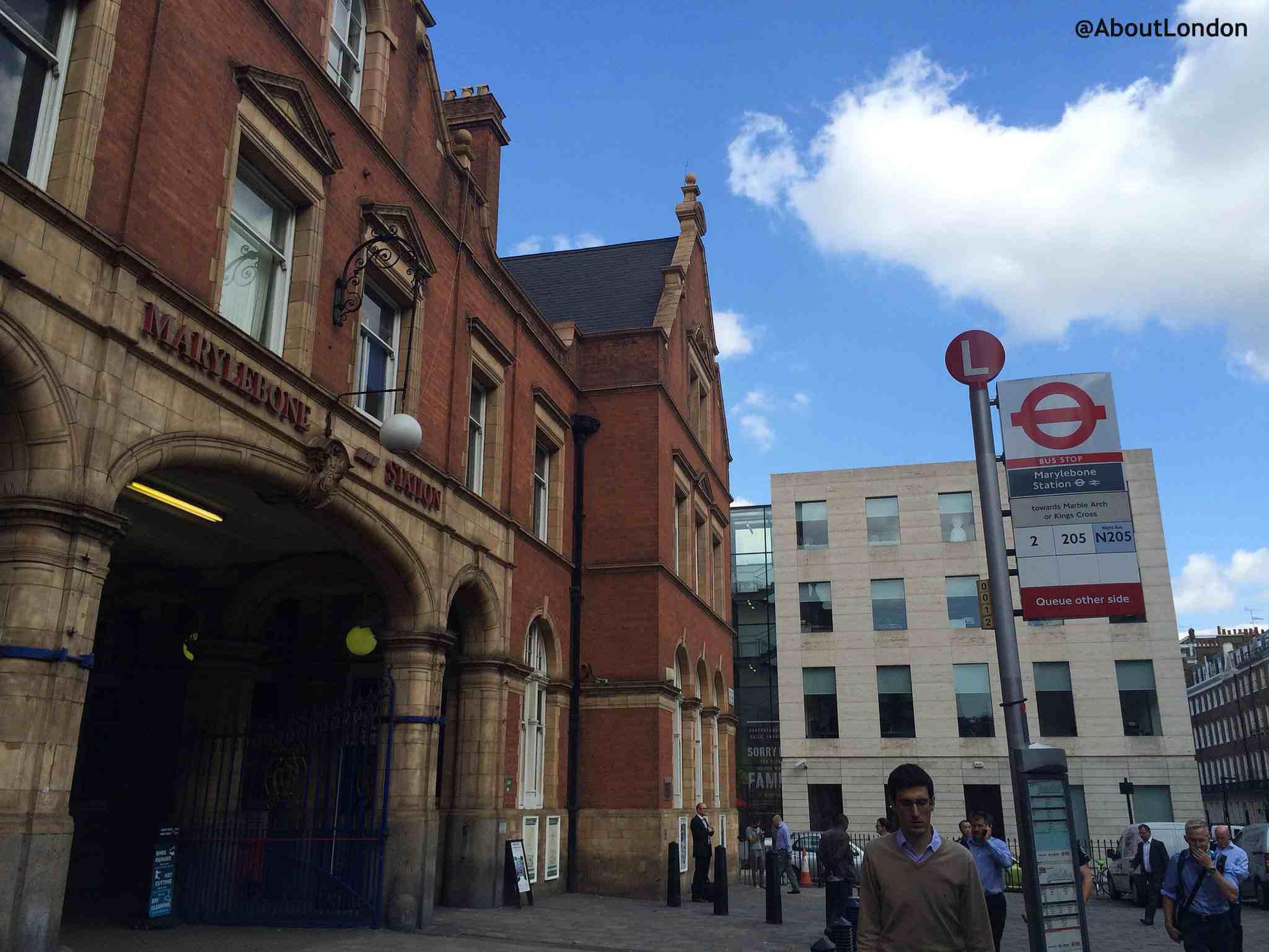 Marylebone Station exterior