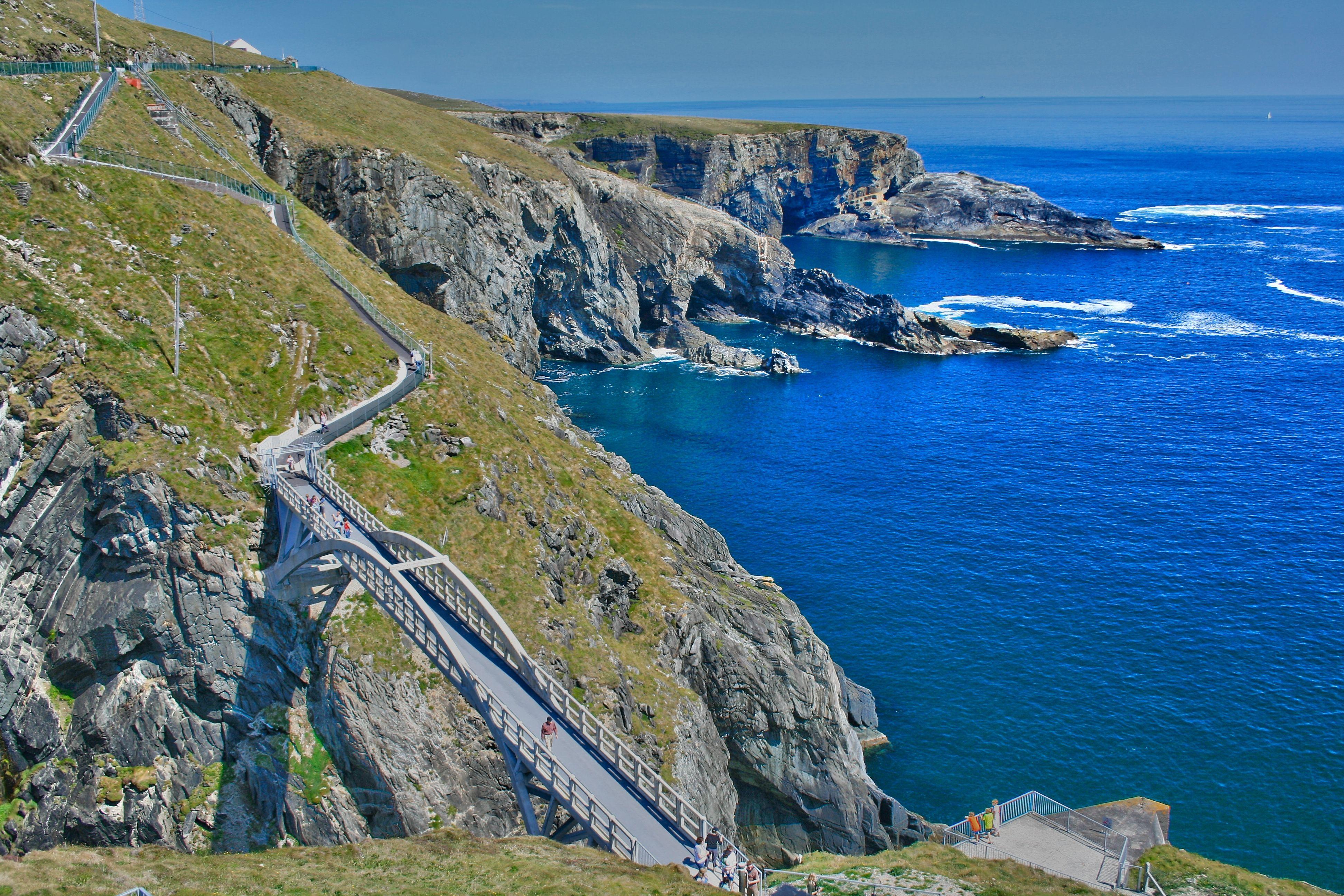Mizen Head Ireland bridge