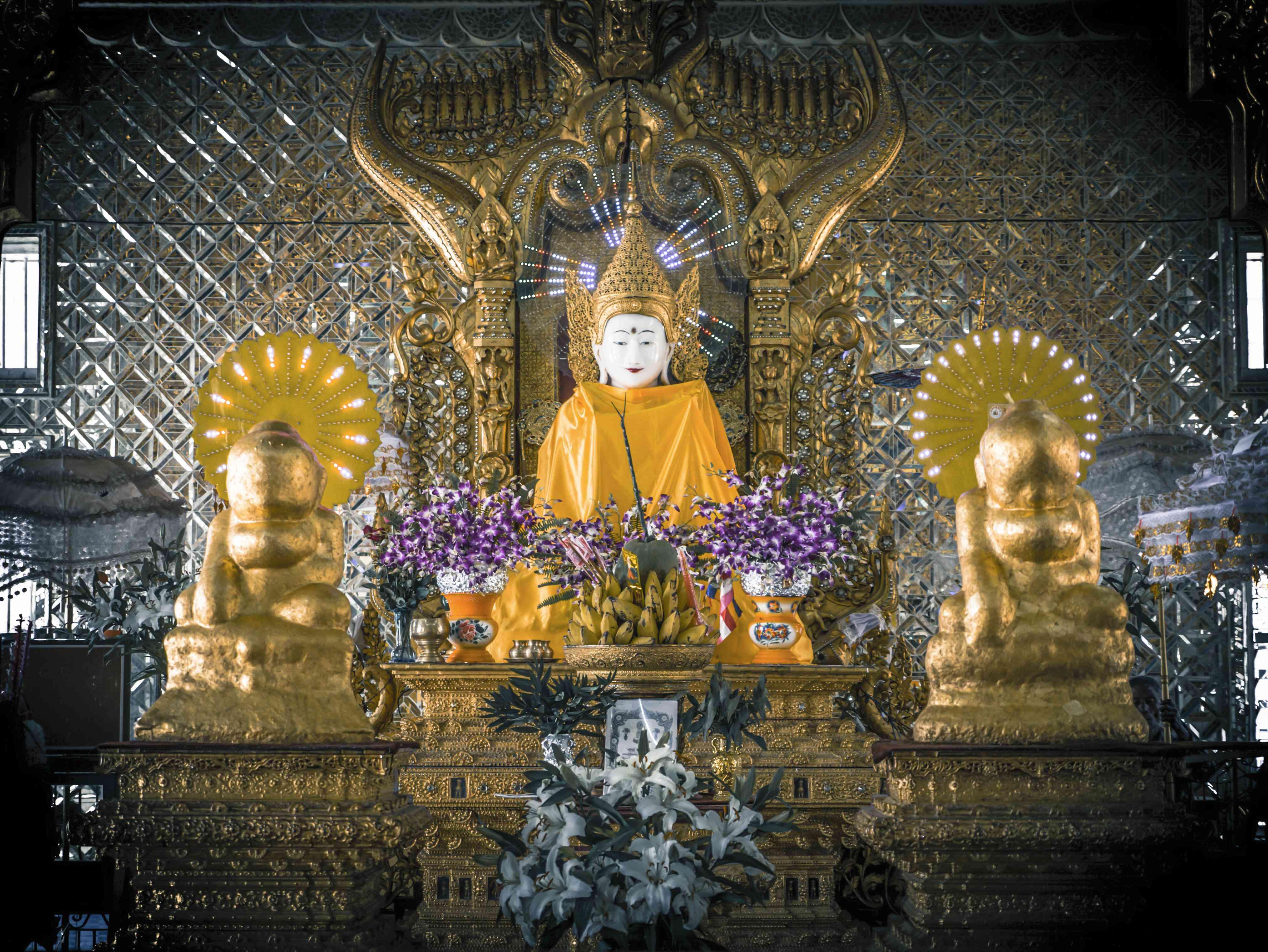 Phaung Daw Oo temple in Mogok, Myanmar