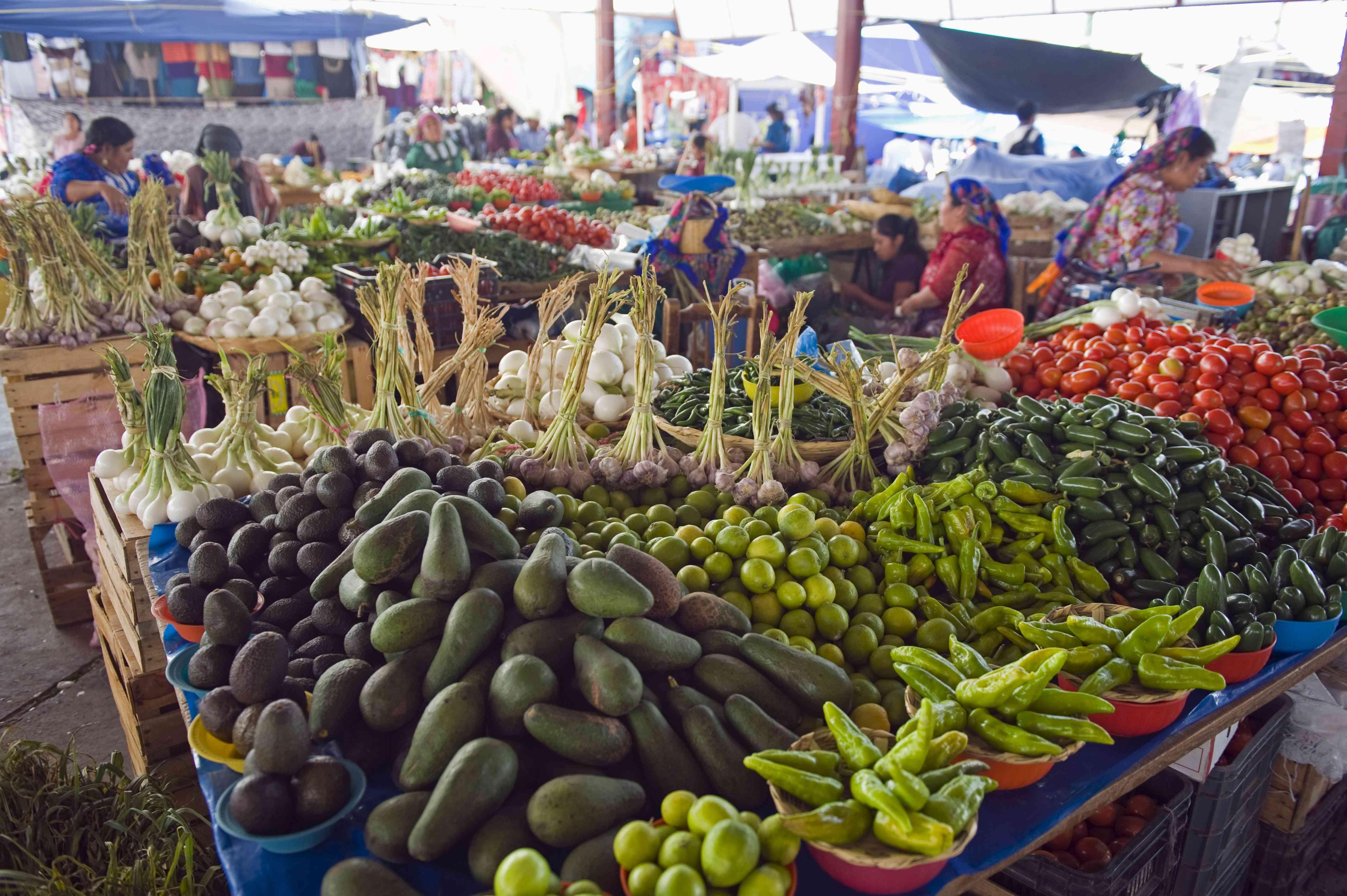 Tlacolula Sunday market, Oaxaca state, Mexico, North America