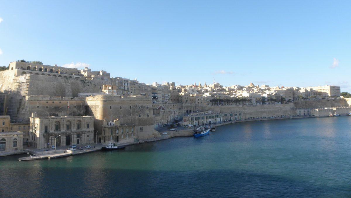 La Valletta, Malta Harbor