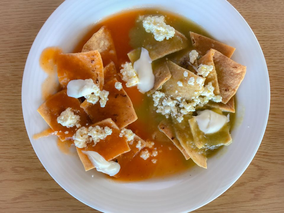 Breakfast Chilaquiles