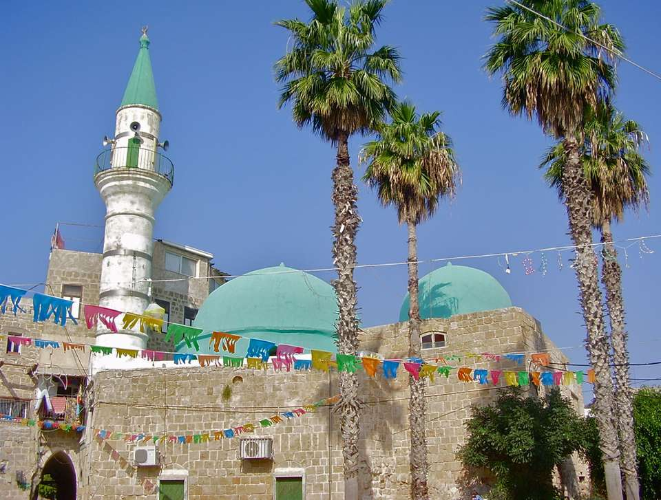 Zeituna Mosque in Akko, called Acre in the Bible, a mostly Muslim city in Israel.